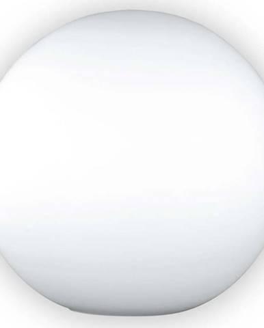 Bílá skleněná stolní lampa Fischer & Honsel Kugel Opal,ø25cm