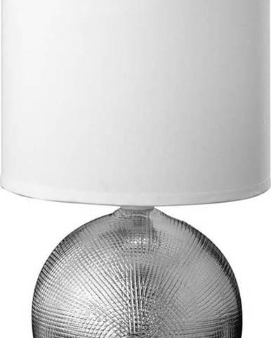 Bílá stolní lampa Fischer & Honsel Foro