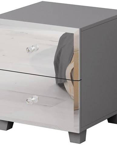 Noční stolek Bellagio 22  2S Šedá