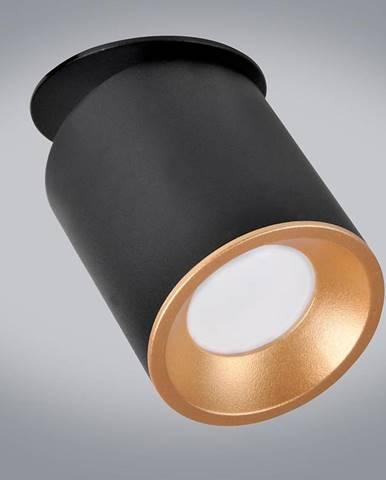Svitidlo Haron černé a zlaté GU10 LW1