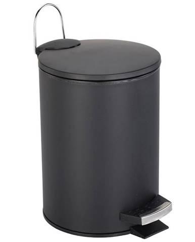 Odpadkový koš nášlap.3L Basic černý Bisk