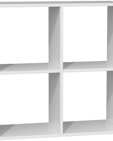 Regál Malax 2x2 Bílý  Mat