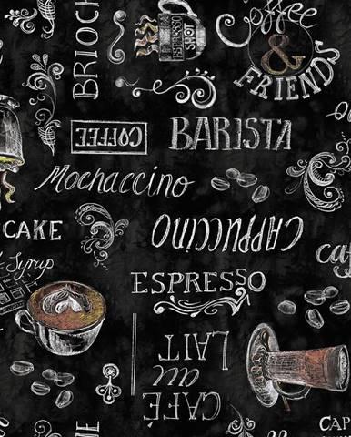 Ubrus Ristretto Noir 385-9009 140cmx20m