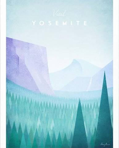 Plakát Travelposter Yosemite, A3