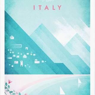 Plakát Travelposter Italy, A3