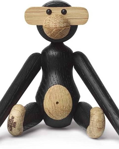 Kay Bojesen Denmark Soška z masivního dubového dřeva Kay Bojesen Denmark Monkey Hanging