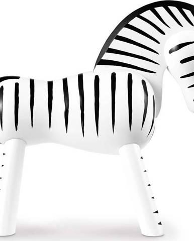 Soška z masivního bukového dřeva Kay Bojesen Denmark Zebra