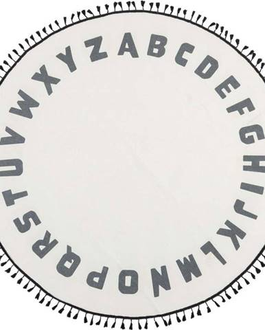 Dětský koberec Flair Rugs Alphabet, ø 120 cm