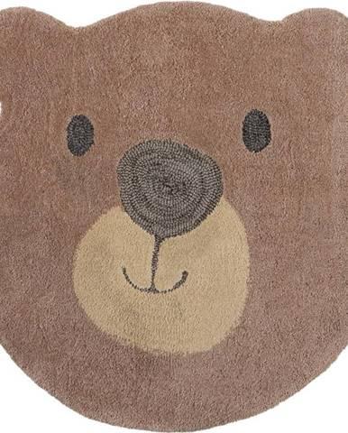 Dětský koberec Flair Rugs Bear Face, ø 70 cm