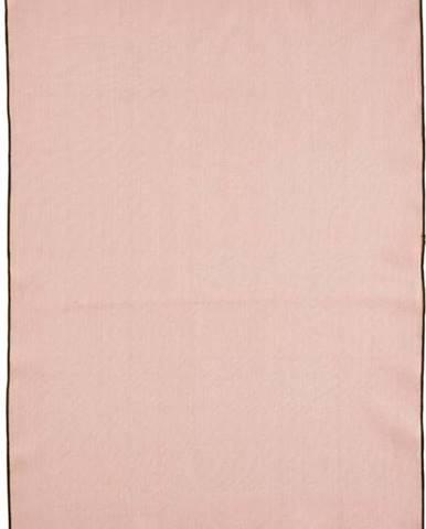 Růžová bavlněná kuchyňská utěrka Bitz Organic,80x55cm