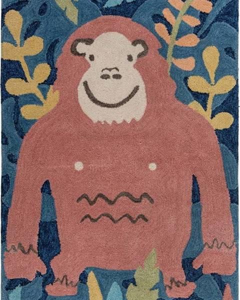 Flair Rugs Dětský koberec Flair Rugs Jungle Monkey, 100 x 150 cm