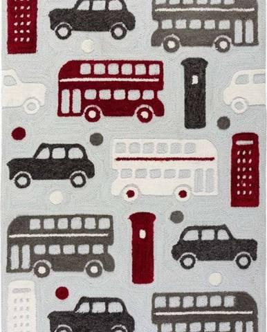 Dětský koberec Flair Rugs City Buzz, 100 x 150 cm
