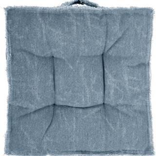 Modrý podsedák Tiseco Home Studio Chester,45x45cm