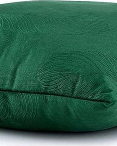 Sada 2 zelených povlaků na polštář se sametovým povrchem AmeliaHome Peacock,45x45cm