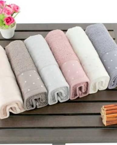 Sada 6 bavlněných ručníků Şaheser, 30x50cm