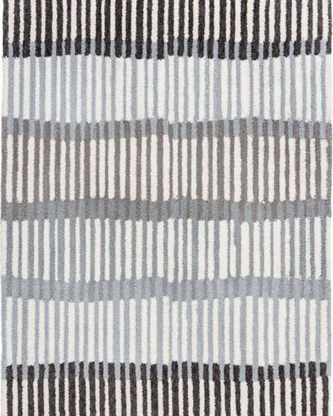 Flair Rugs Šedý koberec Flair Rugs Linear Stripe, 160 x 230 cm