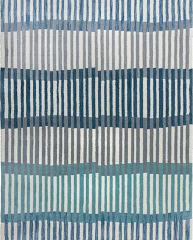 Modrý koberec Flair Rugs Linear Stripe, 120 x 170 cm