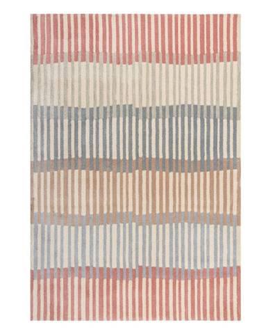 Šedo-béžový koberec Flair Rugs Linear Stripe, 160 x 230 cm