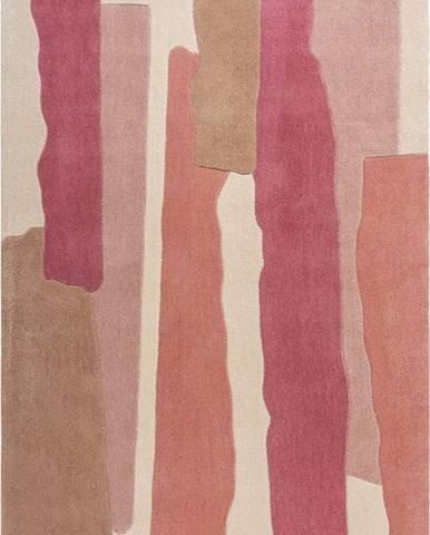 Šedo-růžový koberec Flair Rugs Escala, 160 x 230 cm