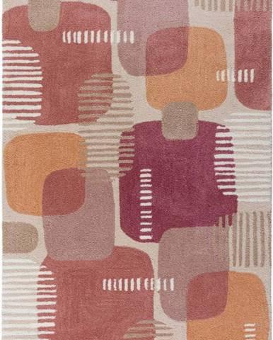 Šedo-růžový koberec Flair Rugs Pop, 120 x 170 cm