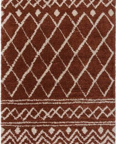 Tmavě červený koberec Flair Rugs Souk, 120 x 170 cm