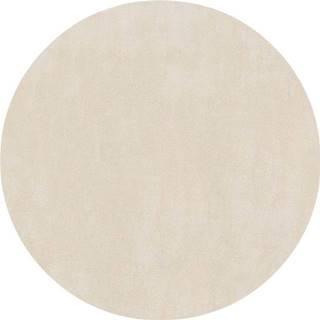 Béžový koberec Flair Rugs Cleo, ø 133 cm