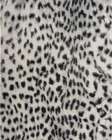 Černo-šedý koberec Flair Rugs Leopard, 120 x 170 cm