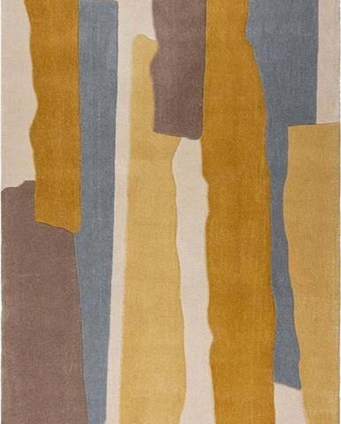 Šedo-žlutý koberec Flair Rugs Escala, 120 x 170 cm
