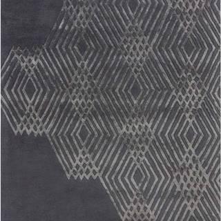 Tmavě šedý vlněný koberec Flair Rugs Diamonds, 160 x 230 cm