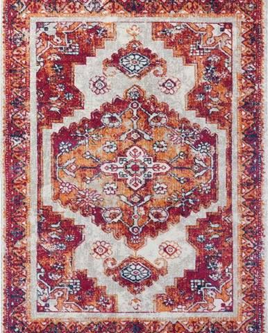 Červený koberec Nouristan Daber, 120 x 170 cm