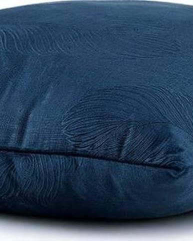 Sada 2 modrých povlaků na polštář se sametovým povrchem AmeliaHome Peacock,45x45cm