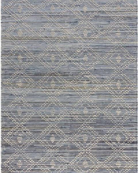 Flair Rugs Modrý bavlněný koberec Flair Rugs Lissie, 120 x 170 cm