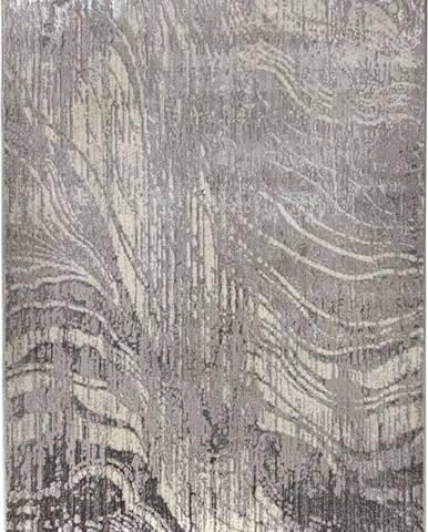 Šedý koberec Flair Rugs Arissa, 80 x 300 cm