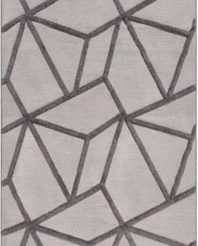 Šedý koberec Flair Rugs Safi, 120 x 170 cm