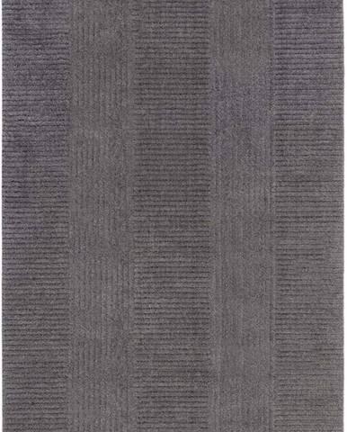 Tmavě šedý koberec Flair Rugs Kara, 160 x 230 cm