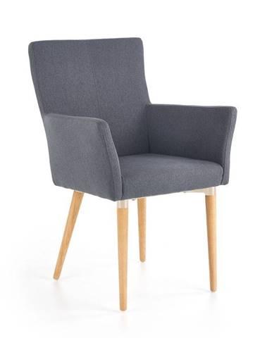 Halmar Jídelní židle K274 šedá