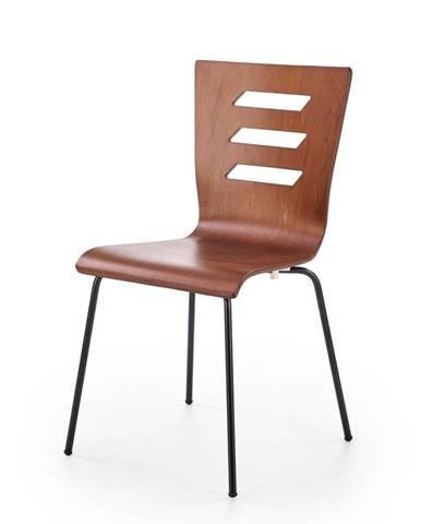 Halmar Jídelní židle K355 ořech