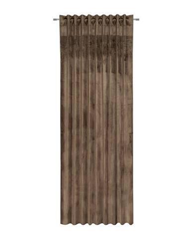 Hotový Závěs Strasssteine, 135/245cm, Hnědá