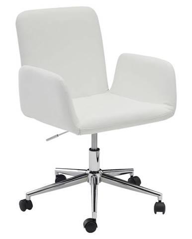 Otočná Židle Amstyle Bílá