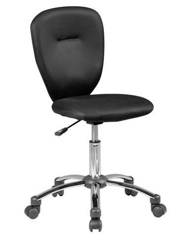 Otočná Židle Pro Dítě Anna Černá