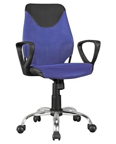 Otočná Židle Pro Dítě Kika Modrá
