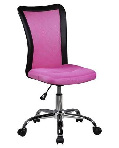 Otočná Židle Pro Dítě Lukas Růžová