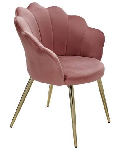 Židle S Područkami Ružová