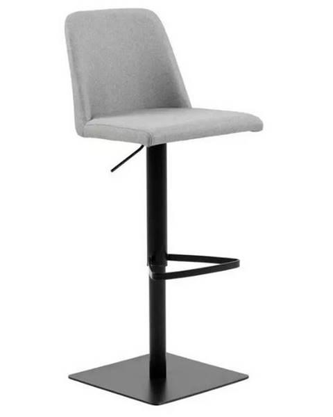 Möbelix Barová Židle Avanja Světle Šedá