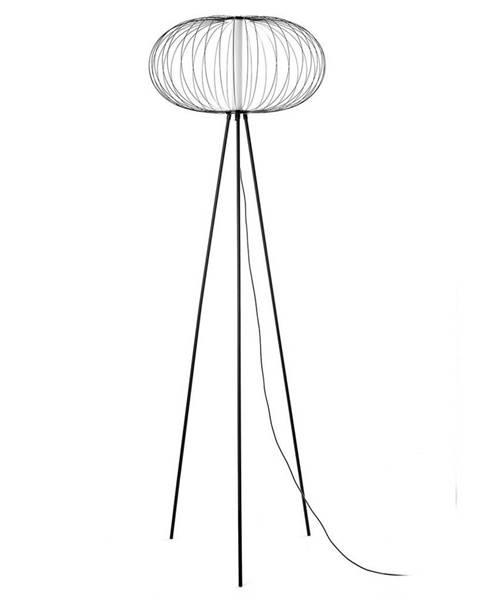 Möbelix Led-stojací Lampa Amos Černá
