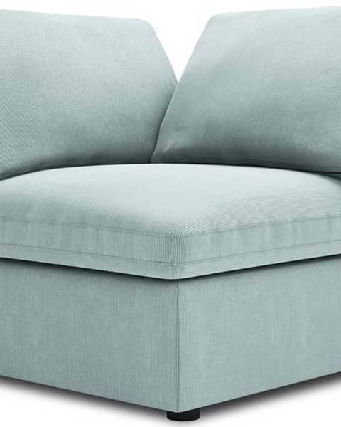 Windsor & Co Sofas Světle modrá oboustranná rohová část modulární pohovky Windsor & Co Sofas Galaxy
