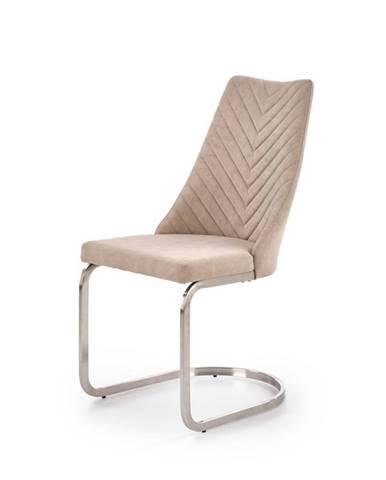 Jídelní židle K-322, světle béžová