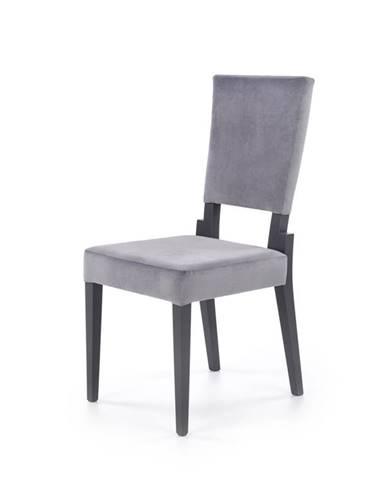 Jídelní židle SORBUS, šedá/grafit