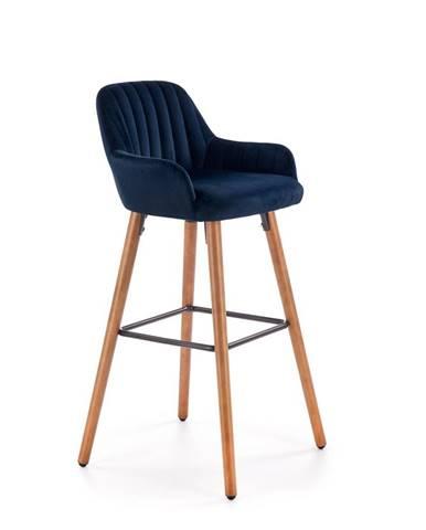 Barová židle H-93, námořnická modř  FHLWZ4811-41