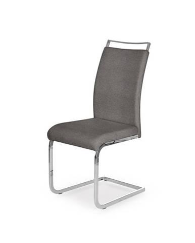 Jídelní židle K-348, šedá